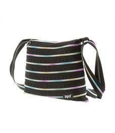 Сумка молодежная Zipit Medium Shoulder Bag чёрный-мульти