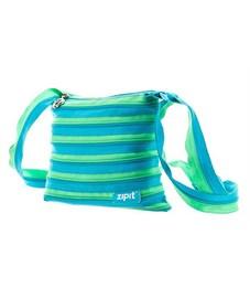 Сумка молодежная Zipit Medium Shoulder Bag голубой-салатовый
