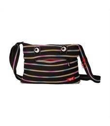 Сумка молодежная Zipit Monster Shoulder Bag чёрный