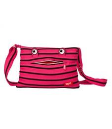 Сумка молодежная Zipit Monster Shoulder Bag розовый-чёрный