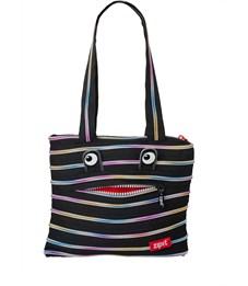 Сумка молодежная Zipit Monster Tote Beach Bag черный