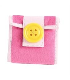 Сумочка-карман декоративная Flavio Ferrucci розовая