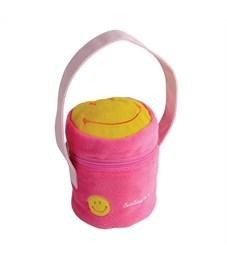 Сумочка декоративная Flavio Ferrucci Смайлик розовая