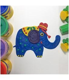 Фото 5. Тесто для лепки JOVI, 05 цветов*110г, картон