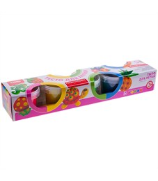 "Фото 1. Тесто для лепки Lori ""Пластишка"", 05 цветов*80г, яркие цвета, картон"