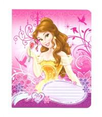 Тетрадь 12л Princess А5 кос лин карт УФ лак
