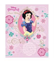 """Фото 5. Тетрадь 12л., клетка Hatber """"Disney. Принцессы"""", тиснение фольгой"""