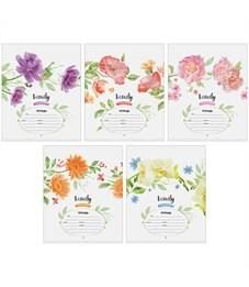 """Тетрадь 12л., косая линия ArtSpace """"Цветы. Beauty in flower"""""""