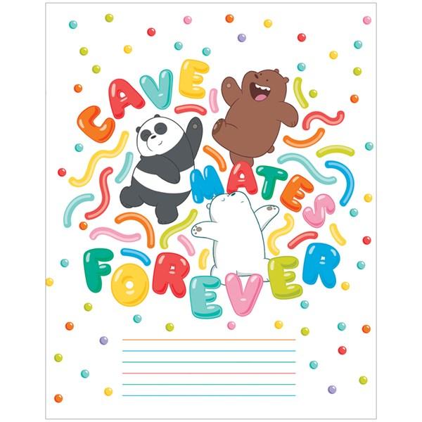 """Тетрадь 12л., линия Hatber """"We Bare Bears. Вся правда о медведях"""""""