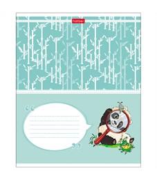 """Тетрадь 24л., линия Hatber """"Приключения маленькой панды"""""""