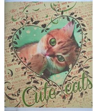 Фото 1. Тетрадь школьная Hatber Милые котята 48 л. клетка А5 на скобе
