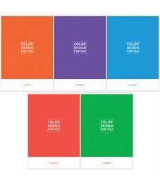 """Тетрадь 48л., А4, клетка ArtSpace """"Моноколор. Color design"""""""
