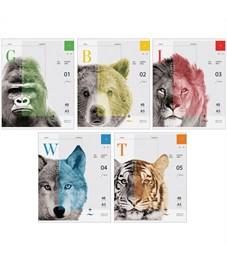 """Тетрадь 48л., А5, клетка ArtSpace """"Природа. Face of wildlife"""", ВД-лак"""
