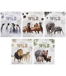 """Тетрадь 48л., А5, клетка ArtSpace """"Животные. Into the wild"""", эконом"""