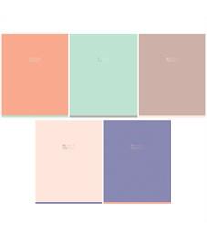 """Тетрадь 48л., А5, клетка GreenwichLine """"One color. Pastel"""", матовая ламинация, 70г/м2"""
