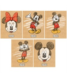 """Тетрадь 48л., А5, клетка Hatber """"Disney. Микки Маус"""", матовая ламинация"""