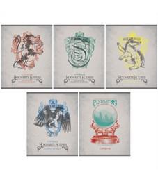 """Тетрадь 48л., А5, клетка Hatber """"Гарри Поттер"""", матовая ламинация"""