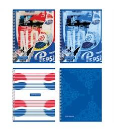 "Тетрадь 48л., А5, клетка на гребне BG ""Pepsi"""