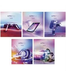 """Фото 1. Тетрадь 48л., А5, линия ArtSpace """"Увлечения. Neon. Alphatech"""""""