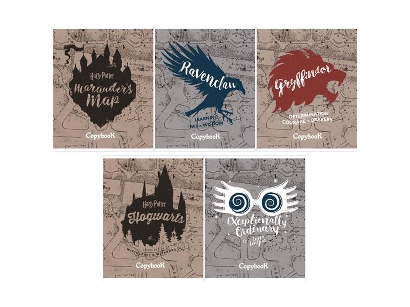 """Тетрадь 48л., А5, линия Hatber """"Гарри Поттер"""", матовая ламинация"""