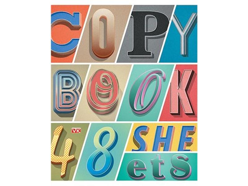 Тетрадь школьная Hatber Copybook 48л А5 линия
