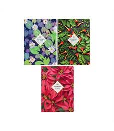 """Тетрадь 80л., А4, клетка ArtSpace """"Цветы. Leaves & Flowers"""", глянцевый уф-лак"""