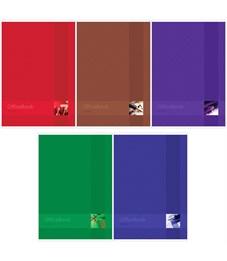 "Тетрадь 80л., А4, клетка ArtSpace ""Моноколор. Office book"""