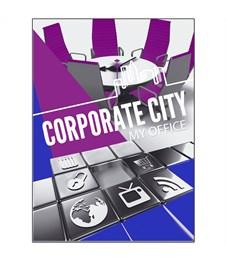 "Тетрадь 96л., А4, линия BG ""Corporate city"""