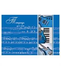 Тетрадь для нот BG Музыкальные инструменты 24 л. А5
