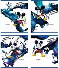 Тетрадь школьная Полиграфика Mickey Epic клетка 18 листов А5