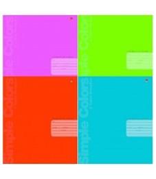 Фото 2. Тетрадь клетка Простые цвета 12 л. АЛЬТ