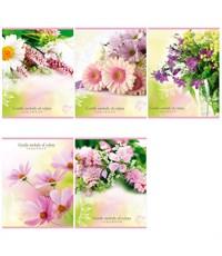 Тетрадь Проф-пресс Мелодия цветов, 48 листов, линейка, А5