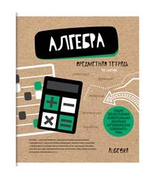 """Тетрадь предметная 48л. ArtSpace """"Craft Book"""" - Алгебра, ТВИН-лак"""