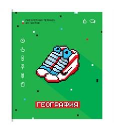 """Тетрадь предметная 48л. ArtSpace """"My game"""" - География, ВД-лак"""
