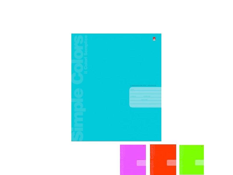 Тетрадь школьная Альт Простые цвета, линейка, 24 л