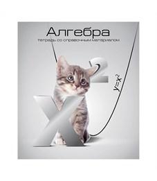 Тетрадь schoolФОРМАТ Учёные коты Алгебра 40 л.