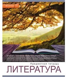 Тетрадь школьная Литература Проф-пресс Мир вокруг нас 48 л
