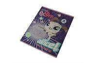 Тетрадь школьная Академия Холдинг Littlest Pet Shop в клетку, 24 листа, картонная обложка