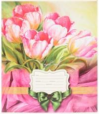 Тетрадь в линейку Удивительные Цветы, 18 листов, А5