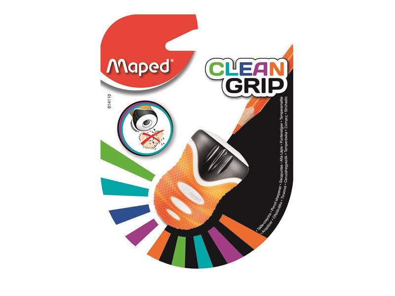 Точилка Maped Clean Grip с контейнером