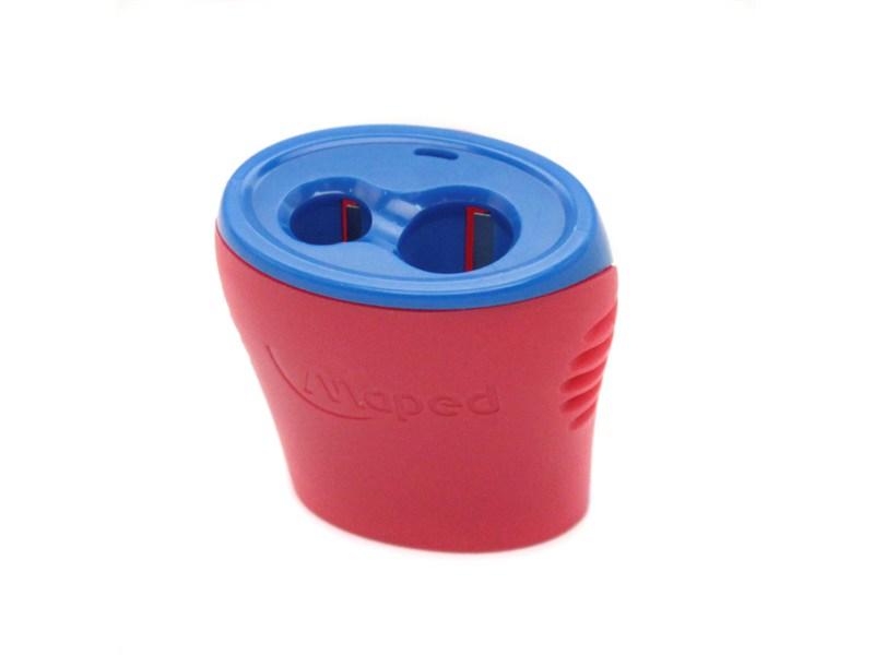 Точилка Maped Boogy, красная, с контейнером, 2 отверстия, 062211