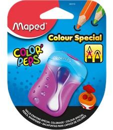 Фото 3. Точилка Maped Color'Peps для цветных карандашей, 2 отверстия, с контейнером