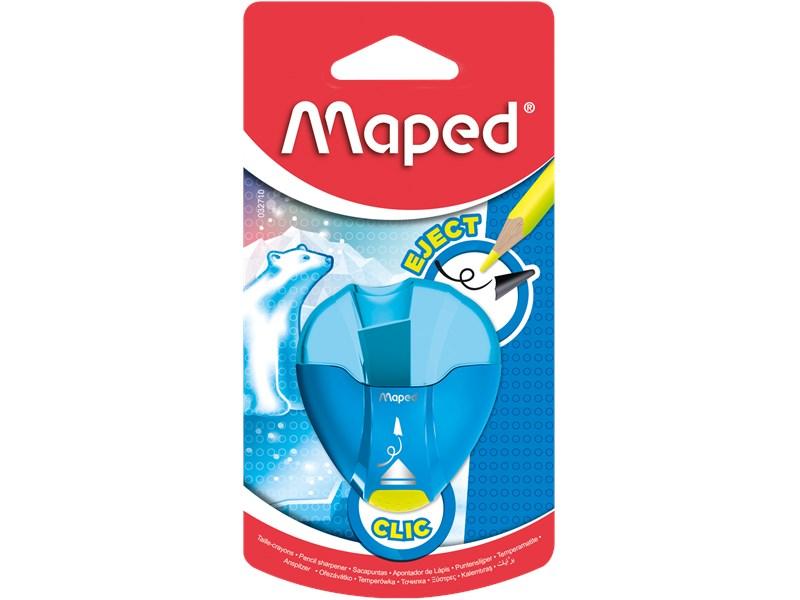 Точилка Maped I-Gloo Eject с контейнером и защитой от сломанного грифеля