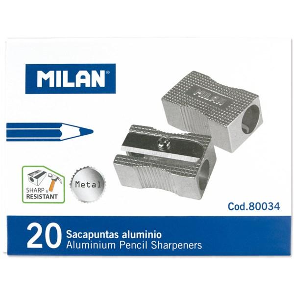 Точилка металлическая Milan, 1 отверстие