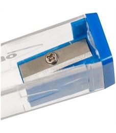 """Фото 2. Точилка пластиковая Berlingo """"Classic Pro"""", 1 отверстие, контейнер, ассорти"""