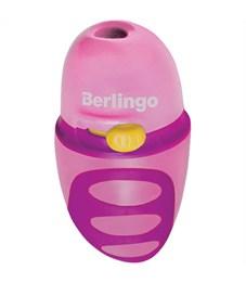 """Фото 3. Точилка пластиковая Berlingo """"Riddle"""" 1 отверстие, c регулятором заточки грифеля, контейнер"""
