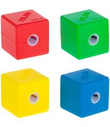 """Точилка пластиковая Milan """"Cubic"""", 1 отверстие, контейнер"""