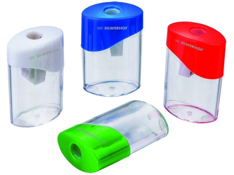 Точилка пластиковая Silwerhof, одно отверстие