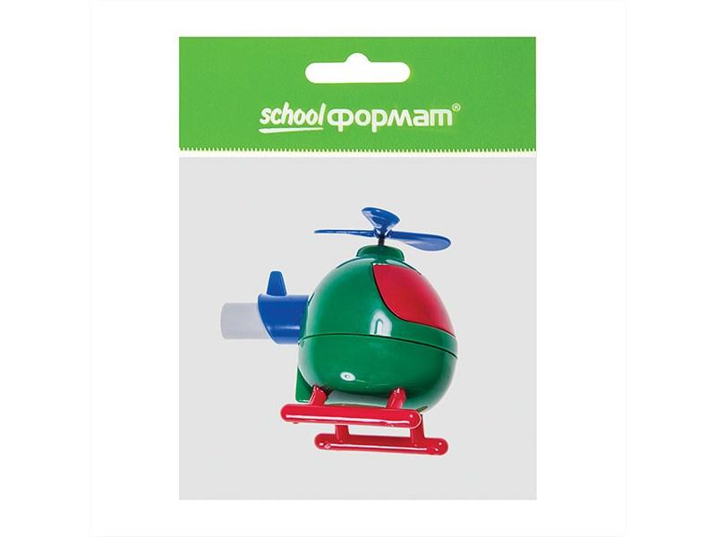 Точилка schoolФОРМАТ Вертолетик с контейнером