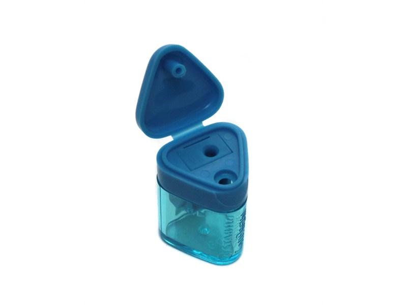 Точилка Stabilo Left Right для правшей, голубая